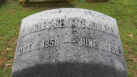 JOHNSON, CHARLES BEATTIE - Caddo County, Louisiana   CHARLES BEATTIE JOHNSON - Louisiana Gravestone Photos