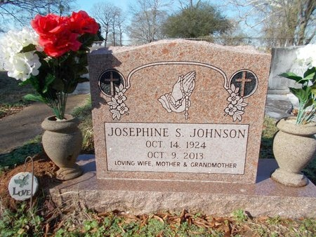 JOHNSON, JOSEPHINE S - Caddo County, Louisiana | JOSEPHINE S JOHNSON - Louisiana Gravestone Photos