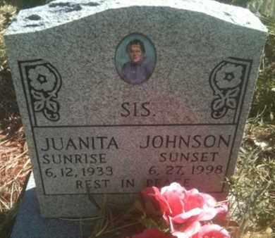 JOHNSON, JUANITA - Caddo County, Louisiana | JUANITA JOHNSON - Louisiana Gravestone Photos