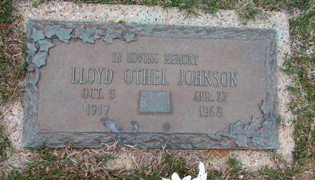JOHNSON, LLOYD OTHEL - Caddo County, Louisiana | LLOYD OTHEL JOHNSON - Louisiana Gravestone Photos