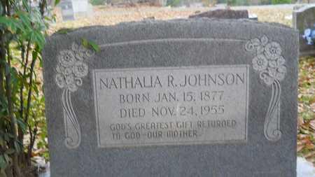 JOHNSON, NATHALIA R - Caddo County, Louisiana | NATHALIA R JOHNSON - Louisiana Gravestone Photos