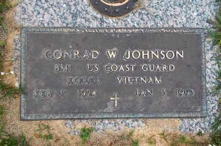 JOHNSON, CONRAD W (VETERAN 2 WARS) - Caddo County, Louisiana | CONRAD W (VETERAN 2 WARS) JOHNSON - Louisiana Gravestone Photos