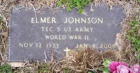 JOHNSON, ELMER (VETERAN WWII) - Caddo County, Louisiana | ELMER (VETERAN WWII) JOHNSON - Louisiana Gravestone Photos