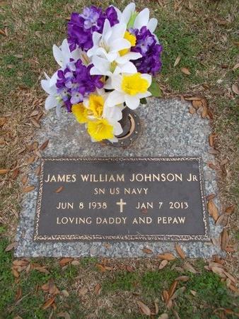 JOHNSON, JAMES WILLIAM, JR (VETERAN) - Caddo County, Louisiana   JAMES WILLIAM, JR (VETERAN) JOHNSON - Louisiana Gravestone Photos