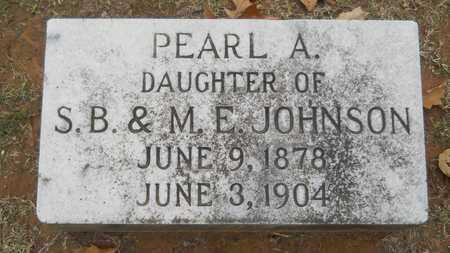 JOHNSON, PEARL A - Caddo County, Louisiana | PEARL A JOHNSON - Louisiana Gravestone Photos