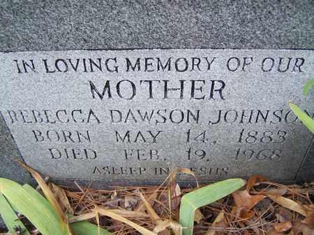 JOHNSON, REBECCA - Caddo County, Louisiana | REBECCA JOHNSON - Louisiana Gravestone Photos