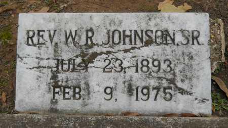 JOHNSON , W R, REV - Caddo County, Louisiana   W R, REV JOHNSON  - Louisiana Gravestone Photos