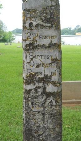 JOHNSON, S A, REV - Caddo County, Louisiana   S A, REV JOHNSON - Louisiana Gravestone Photos