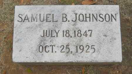 JOHNSON, SAMUEL B - Caddo County, Louisiana   SAMUEL B JOHNSON - Louisiana Gravestone Photos