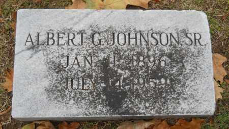 JOHNSON, ALBERT G, SR - Caddo County, Louisiana | ALBERT G, SR JOHNSON - Louisiana Gravestone Photos
