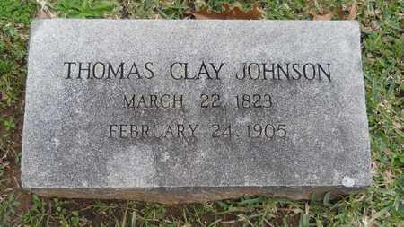 JOHNSON, THOMAS CLAY - Caddo County, Louisiana | THOMAS CLAY JOHNSON - Louisiana Gravestone Photos