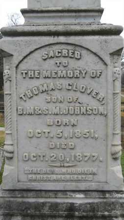 JOHNSON, THOMAS GLOVER - Caddo County, Louisiana   THOMAS GLOVER JOHNSON - Louisiana Gravestone Photos