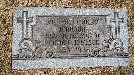 JOHNSON, WILLIAM HARRY - Caddo County, Louisiana | WILLIAM HARRY JOHNSON - Louisiana Gravestone Photos