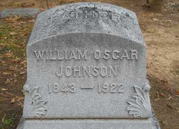 JOHNSON, WILLIAM OSCAR - Caddo County, Louisiana | WILLIAM OSCAR JOHNSON - Louisiana Gravestone Photos