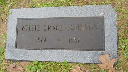 JOHNSON, WILLIE GRACE - Caddo County, Louisiana | WILLIE GRACE JOHNSON - Louisiana Gravestone Photos