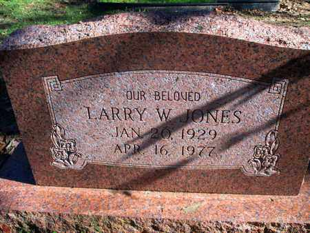 JONES, LARRY W - Caddo County, Louisiana | LARRY W JONES - Louisiana Gravestone Photos