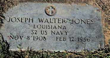 JONES, JOSEPH WALTER (VETERAN) - Caddo County, Louisiana | JOSEPH WALTER (VETERAN) JONES - Louisiana Gravestone Photos