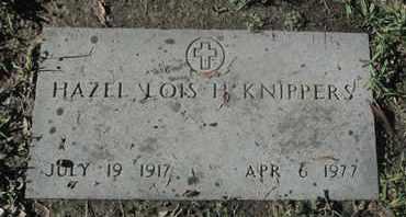 KNIPPERS, HAZEL LOIS H - Caddo County, Louisiana | HAZEL LOIS H KNIPPERS - Louisiana Gravestone Photos