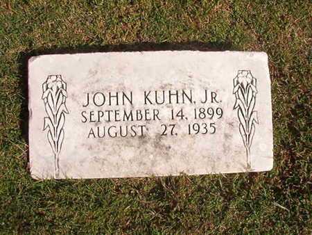KUHN, JOHN, JR - Caddo County, Louisiana   JOHN, JR KUHN - Louisiana Gravestone Photos