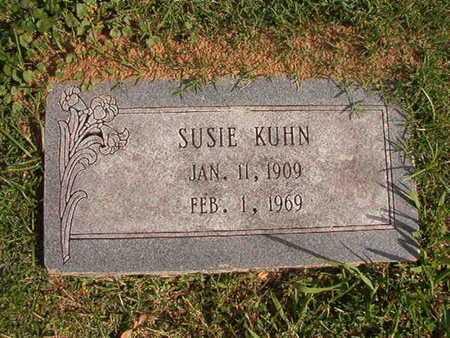 KUHN, SUSIE - Caddo County, Louisiana | SUSIE KUHN - Louisiana Gravestone Photos