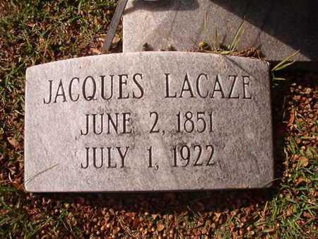 LACAZE, JACQUES - Caddo County, Louisiana | JACQUES LACAZE - Louisiana Gravestone Photos