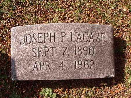 LACAZE, JOSEPH P - Caddo County, Louisiana | JOSEPH P LACAZE - Louisiana Gravestone Photos