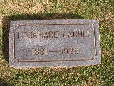 LACHLE, LEONAHARD - Caddo County, Louisiana | LEONAHARD LACHLE - Louisiana Gravestone Photos