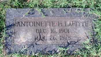 HERING LAFITTE, ANTOINETTE - Caddo County, Louisiana | ANTOINETTE HERING LAFITTE - Louisiana Gravestone Photos