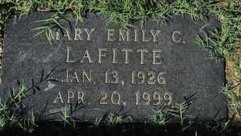 LAFITTE, MARY EMILY C - Caddo County, Louisiana   MARY EMILY C LAFITTE - Louisiana Gravestone Photos