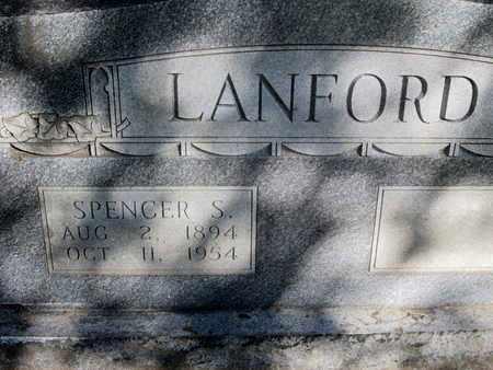 LANFORD, SPENCER S - Caddo County, Louisiana | SPENCER S LANFORD - Louisiana Gravestone Photos