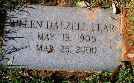 DALZELL LEARY, HELEN - Caddo County, Louisiana | HELEN DALZELL LEARY - Louisiana Gravestone Photos