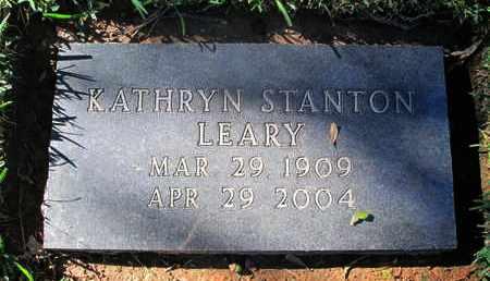 LEARY, KATHRYN - Caddo County, Louisiana | KATHRYN LEARY - Louisiana Gravestone Photos