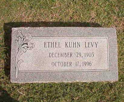 KUHN LEVY, ETHEL - Caddo County, Louisiana | ETHEL KUHN LEVY - Louisiana Gravestone Photos