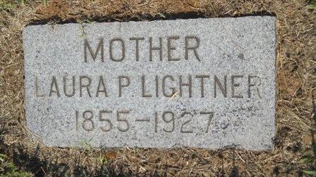 LIGHTNER, LAURA P - Caddo County, Louisiana | LAURA P LIGHTNER - Louisiana Gravestone Photos