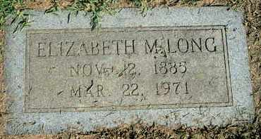 MIDDLETON LONG, ELIZABETH - Caddo County, Louisiana | ELIZABETH MIDDLETON LONG - Louisiana Gravestone Photos