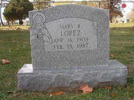 LOPEZ, MARY R - Caddo County, Louisiana | MARY R LOPEZ - Louisiana Gravestone Photos