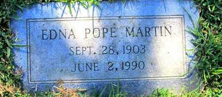 POPE MARTIN, EDNA - Caddo County, Louisiana | EDNA POPE MARTIN - Louisiana Gravestone Photos