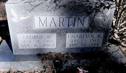 MARTIN, GEORGE B - Caddo County, Louisiana | GEORGE B MARTIN - Louisiana Gravestone Photos