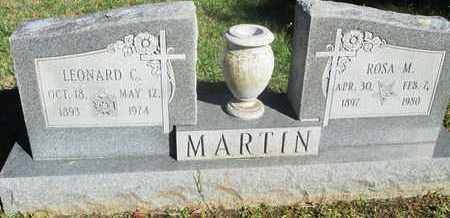 MARTIN, LEONARD C - Caddo County, Louisiana | LEONARD C MARTIN - Louisiana Gravestone Photos