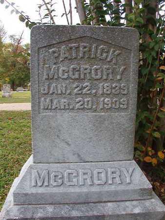 MCCRORY, PATRICK - Caddo County, Louisiana | PATRICK MCCRORY - Louisiana Gravestone Photos