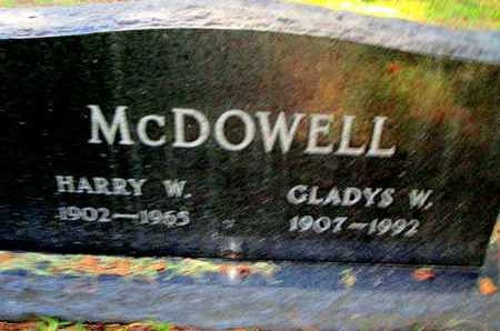 MCDOWELL, GLADYS W - Caddo County, Louisiana | GLADYS W MCDOWELL - Louisiana Gravestone Photos