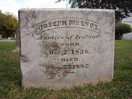 MCEVOY, JOSEPH - Caddo County, Louisiana | JOSEPH MCEVOY - Louisiana Gravestone Photos