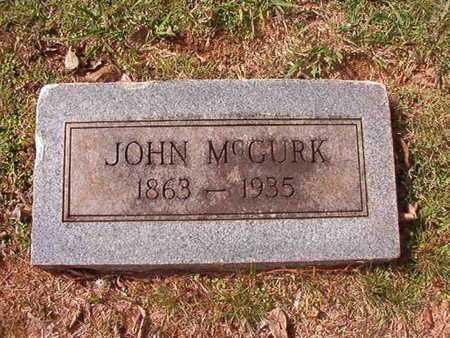 MCGURK, JOHN - Caddo County, Louisiana   JOHN MCGURK - Louisiana Gravestone Photos