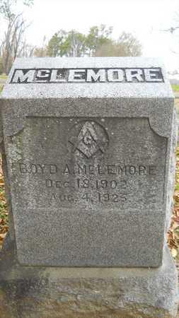 MCLEMORE, BOYD A - Caddo County, Louisiana | BOYD A MCLEMORE - Louisiana Gravestone Photos