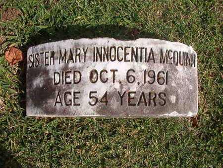MCQUINN, SISTER, MARY INNOCENTIA - Caddo County, Louisiana | MARY INNOCENTIA MCQUINN, SISTER - Louisiana Gravestone Photos