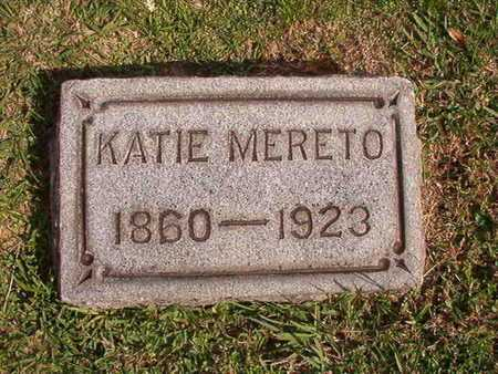 MERETO, KATIE - Caddo County, Louisiana | KATIE MERETO - Louisiana Gravestone Photos