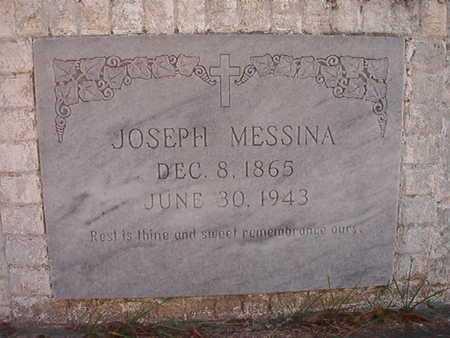 MESSINA, JOSEPH - Caddo County, Louisiana   JOSEPH MESSINA - Louisiana Gravestone Photos