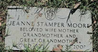 STAMPER MOORE, JEANNE - Caddo County, Louisiana | JEANNE STAMPER MOORE - Louisiana Gravestone Photos