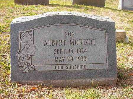 MORIZOT, ALBERT - Caddo County, Louisiana | ALBERT MORIZOT - Louisiana Gravestone Photos