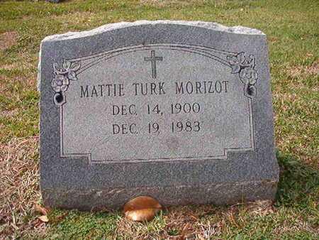 MORIZOT, MATTIE - Caddo County, Louisiana | MATTIE MORIZOT - Louisiana Gravestone Photos